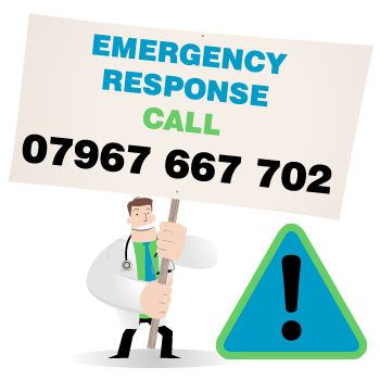 Ermergency Response - Call NOW!